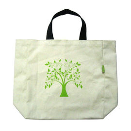 Recycle Non Woven Polypropylene Bags , Reusable Shopping Bags White
