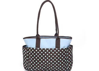 Fashion designer baby diaper bags Black Yummy Mummy Changing Bags with Dots Printed