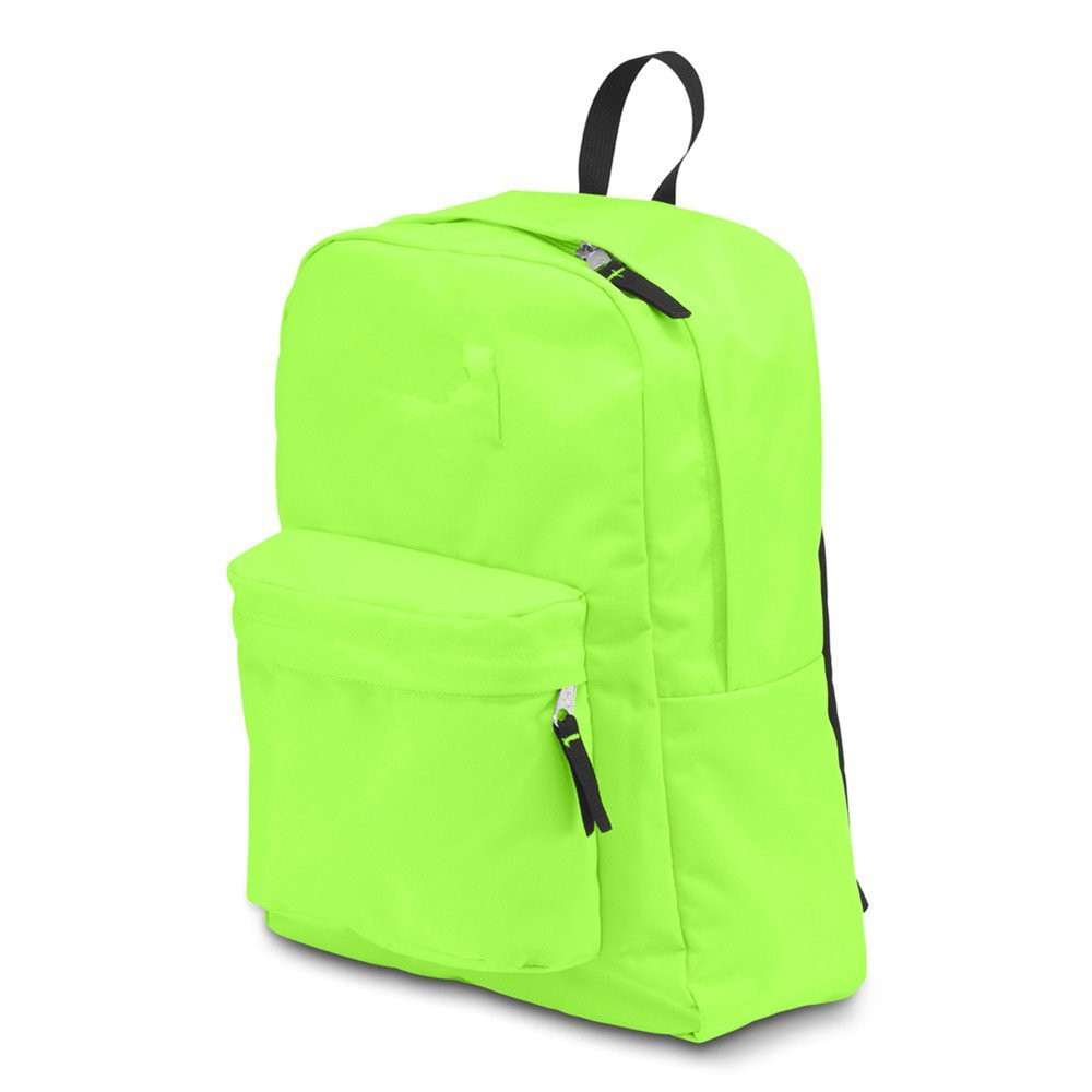 Customizable Outdoor Sports Backpack Light Green For High School Girls / Boys