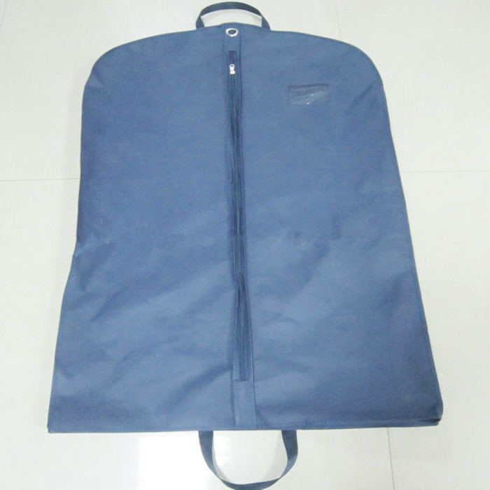 Custom Hanging Suit Garment Bag Folding Breathable In Non Woven Fabric