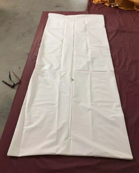 Disposable PEVA Body Bag for Dead Bodies , l Corpse Body Bag for mortuary