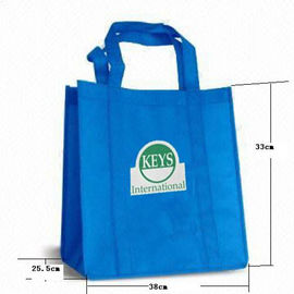 China Generic Supermarket Non Woven Shopping Bag Non Woven Fabric Bags factory